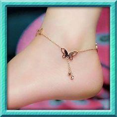 Bogo Sale Fashion Butterfly Anklet