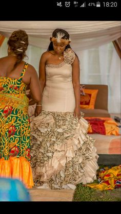 "20120d1fa70f Tsèpo Banda  s zambian kitchen party dresses Photo. Pinned in ""That day ❤"