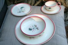 """rare """"Aloha"""" pattern, Brock of California... from the 50's"""