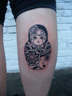 Image for Matryoshka Doll Arm Tattoo