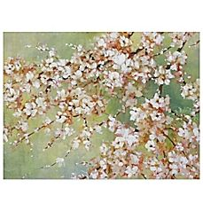 image of Into the Cherry Blossom Canvas Wall Art