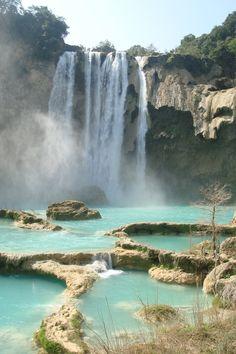 Cascada El Salto #HuastecaPotosina #SanLuisPotosi