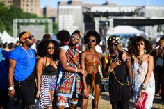 The Best Street Style From Brooklyn's 2016 Afropunk Music Festival