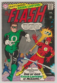 Flash Vol 1 168 Silver Age Comic Book.  FN. March 1967. DC #flash #greenlantern #silveragecomics #comicsforsale