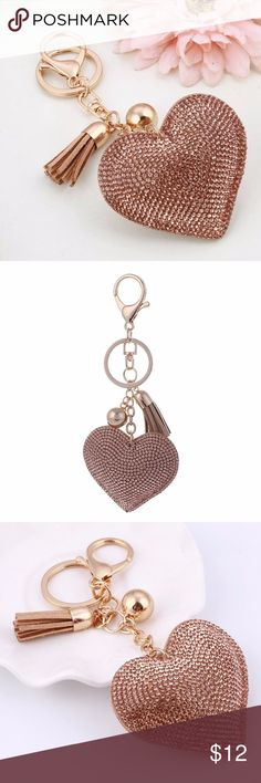 Mocha Purse Charm Add a little bling to your favorite purse with this adorable purse charm! This is the cutest item you will see today! Don't miss out! Accessories