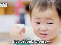 I'm hungry~~~~~ give me food pleaseee Superman Meme, Superman Kids, Twin Babies, Cute Babies, Triplet Babies, Korean Tv Shows, I Miss You Guys, Song Daehan, Song Triplets