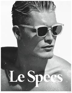 0e7e05796f0 Harry Goodwins Models Le Specs Spring Summer 2014 15 Sunglasses Styles  image Harry Goodwins