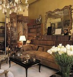 Coco Chanel's apartment ~ because great fashion is not just clothing, it's a lifestyle