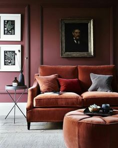 Gorgeous colours that are set to take over in 2017! And some more velvet to go with it - via Frenchbydesign #velvet #designtrends #2017 #interior #interiors #interiordesign #interiordecoration #livingroom #lounge #furniture #sofa #couch #ottoman #panelling #home #homedecor #honewares #decor #styling #design #homestyling #interiorstylist #interiordesigntrends