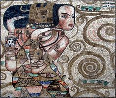 another Klimt mosaic