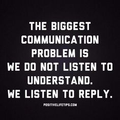 Become a better listener - #Life, #LifeTipsTips
