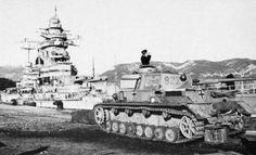 Panzer IV with Schanhorst Battleship Norway