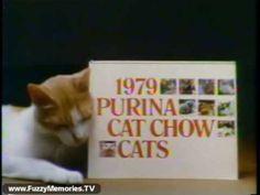 "Purina Cat Chow - ""Calendar Cats"" (Commercial, 1978)"