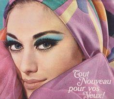 vintage makeup ad | vintage #70s #makeup #ad