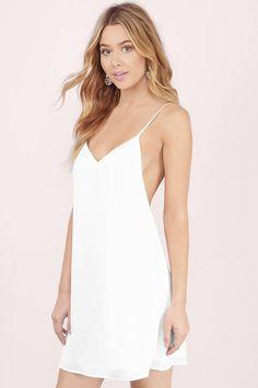 Renee Open Back Slip Dress at Tobi.com #shoptobi