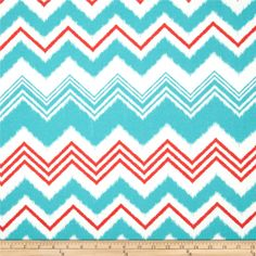 Premier Prints Indoor/Outdoor Zazzle Calypso from @fabricdotcom  Premier Prints outdoor fabrics are screen printed on spun polyester and have a stain and water resistant finish. These fabrics withstand direct sunlight for up to 1000 hours making them both durable and versatile, perfect for outdoor settings and indoor living in sunny rooms, great family friendly fabric! Create decorative toss pillows, chair pads, placemats, tote bags and much more.