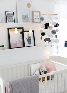 Obviously in doing up our nursery my head started . Obviously in doing up our nursery my head started rumbling with a million DIY projects I wanted to do. Sadly I had to reign in my long list and get realistic about how much time I had. One thing I … Baby Bedroom, Baby Room Decor, Nursery Room, Girl Nursery, Girl Room, Kids Bedroom, Baby Room Diy, Kids Rooms Decor, Princess Nursery
