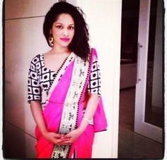 Masaba Gupta looks phenomenal in her own creation! Love masaba!