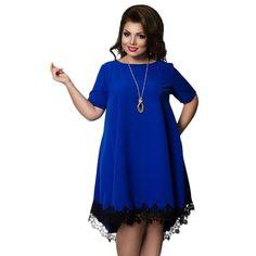8e3523ef8e14 Dresses. Backless DressesLoose DressesShort Sleeve DressesBlue DressesLinkFemale  ClothingPlus Size Womens ClothingClothes ...