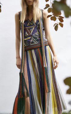 Lamé Rib Knit Midi Skirt by MISSONI for Preorder on Moda Operandi