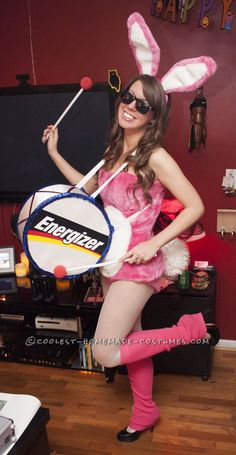 Cutest Energizer Bunny Costume Ever!… Coolest Halloween Costume Contest Source by coolestparties Halloween Costume Contest, Sexy Halloween Costumes, Cute Costumes, Halloween Party, Costume Ideas, Halloween Ideas, Halloween Customs, Halloween 2015, Halloween Stuff