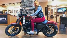f249fe333 How To Shop For A Harley Davidson Sportster With Your Girlfriend - Watch Now