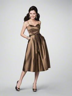 """I really REALLY like this dress! They don't have it in """"wine"""" but the """"cranberry"""" is REALLY pretty! Alfred Angelo"""