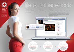 "Polish Red Cross ""Life is not Facebook"", Internet 2011 on Advertising Served"