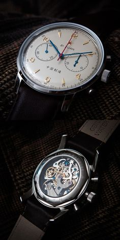 SEAGULL 1963 AIR FORCE WATCH 42MM GOLD.