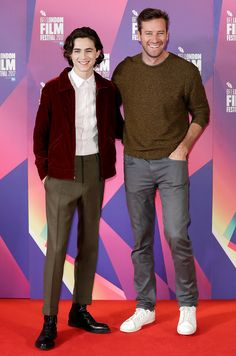 Armie Hammer and Timothée Chalamet Recall 'Passionately' Making Out for the First Time
