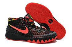 check out 2741a 90c99 Boy Kyrie 1 Young Dream Black Bright Crimson Anthracite White 705277 016  Nike Air Jordans,