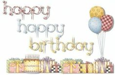 Happy Birthday Quotes, Birthday Wishes, Birthday Clipart, Clip Art, Place Card Holders, Diy Crafts, Letters, Envelopes, Scrapbooking