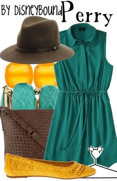 Perry by DisneyBound                                                                                                                                                      More