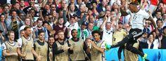 Achtelfinale: Beste Turnierleistung - Deutschland besiegt die Slowakei