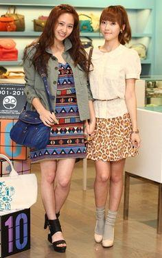 Krystal Jung & Jessica Jung ★ #SNSD #Kpop