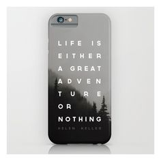 Adventure Or Nothing iPhone & iPod Case ($35) ❤ liked on Polyvore featuring accessories, tech accessories and iphone & ipod cases