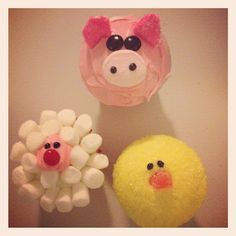 MegMac Designs :: Everyday Inspirations  Farm Cupcakes! YUM