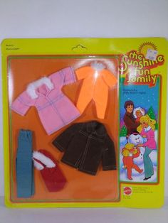 The Sunshine Family -  Fashions  For Chilly Days and Nights