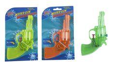 Wasserpistole ca.16cm Spritzpistole Spritz Pistole Wasserpistolen Revolver Neu…