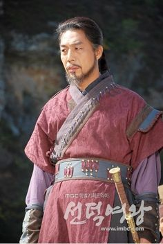 Chilsuk, one of Lady Mishil's minions, and a Hwarang. Another interesting villain who was constantly surprising me.