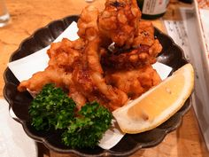 Fried Octopus (looks weird, actually tastes really good)