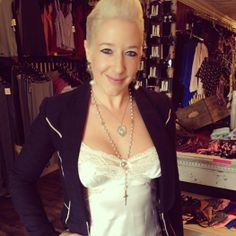 Owner of Sedaz LIngerie, Amy Brandstetter, rockin a sexy Christine Lingerie Camisole. 100% silk and made in Canada! Available at Sedaz Lingerie and soon, Sedaz will have an online store!!