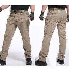 Army Military Pants Cotton Many Pockets Stretch Flexible Man Casual Trousers XXXL Mens Trousers Casual, Trouser Pants, Casual Pants, Khaki Pants, Men Casual, Men Pants, Military Pants, Military Training, Camouflage Pants