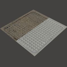 Scan Of Manhole Cover 3d Artist, Show Photos, Photo Reference, Objects, Texture, Cover, Surface Finish, Patterns