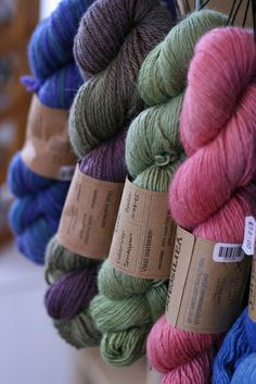 Eco-Friendly and Ethical Yarns And Textiles