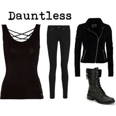 Image result for easy simple dauntless outfit