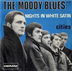 """This is wrong! This is the Moody Blues from the beginning; """"Go Now""""!  """"Nights in White Satin"""" was written by Justin Hayward & he is not even in this picture, nor is John! Denny Laine is there! This is the R & B version not the progressive rock version that the Moody Blues became!"""