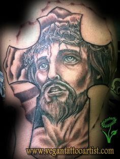 jesus on cross tattoos for men | jesus on cross tattoo