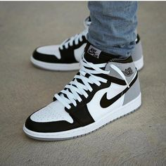 Air Jordan Retro 1 Baron - Funny Tutorial and Ideas Jordan Shoes Girls, Air Jordan Shoes, Girls Shoes, Retro Jordan Shoes, Air Jordan Retro, Jordan Outfits, Outfits With Jordans, Custom Jordan Shoes, Michael Jordan Shoes