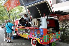 """Travel NW – Food trucks in Vancouver, British Columbia Copyright © QueenBeeCoupons"" #explorebc"